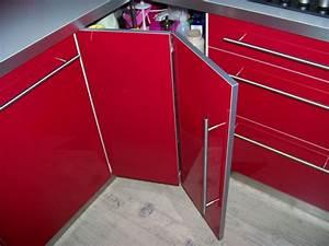 Meuble Cuisine Rouge Laqué : meuble de cuisine rouge ikea maison et mobilier d 39 int rieur ~ Teatrodelosmanantiales.com Idées de Décoration
