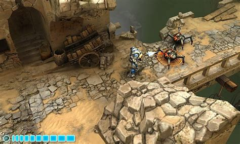 similar to dungeon siege microsoft showcases for wp7s created with xna