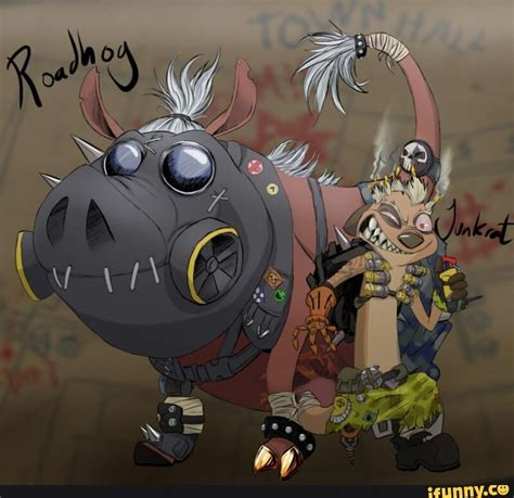 Roadhog Memes - overwatch meme funny roadhog junkrat overwatch pinterest overwatch paladin and