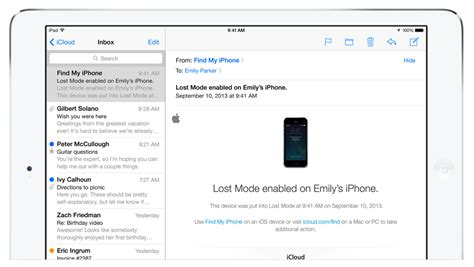 search email on iphone ios 8 how to set up and use find my iphone and ipod