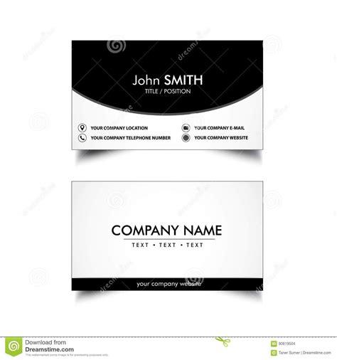 simple business template simple business card template vector illustration cartoondealer 90619504
