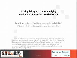 A Living Lab Approach for Studying Workplace Innovation in ...