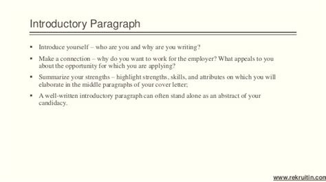 how important is a cover letter importance of cover letter 33177