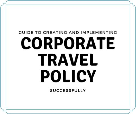Travel Policy Template For Small Business by 93 Business Travel Policy Business Travel Policy