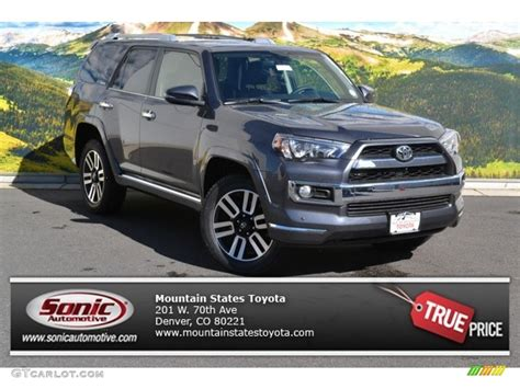 2015 4runner Limited by 2015 Magnetic Gray Metallic Toyota 4runner Limited 4x4