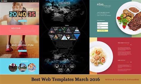 best web templates best web templates march 2016 entheos