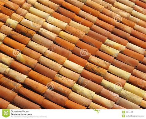 tuiles de toit dans differentes couleurs images libres de