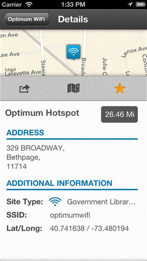 optimum wifi hotspot finder ios appcrawlr