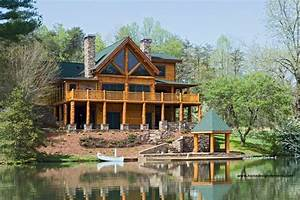 Log Home Edenfield Traditional Exterior other