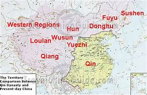 Qin Dynasty Map  Territory Comparison With Present