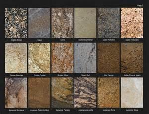 granite countertops color sles