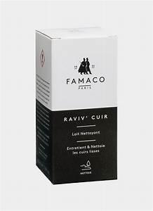 Lait Nettoyant Cuir : famaco cuirs lisses ~ Melissatoandfro.com Idées de Décoration