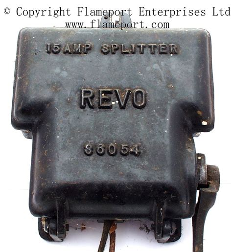 Revo Amp Electrical Splitter Unit With Cast Iron Casing