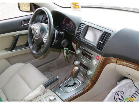 2008 subaru legacy interior warm ivory interior 2008 subaru legacy 3 0r limited photo