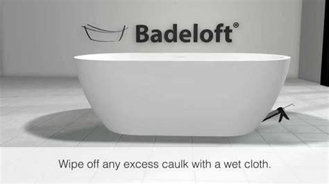 badeloft freestanding bathtub installation   ez