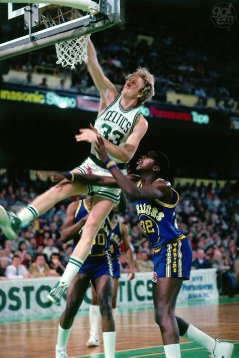 larry bird dunking basketball google search boston