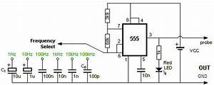 circuit diagram square wave generator using 555 timer With 555 stepper pulse generator electronic circuit diagram
