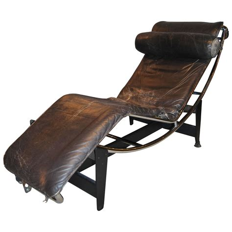le corbusier chaise longue early le corbusier jeanneret perriand lc4 chaise lounge