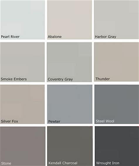 most popular gray paint colors more benjamin moore