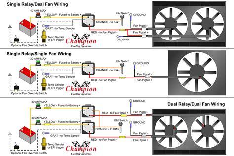 Wiring Fan Relay Wire Diagrams