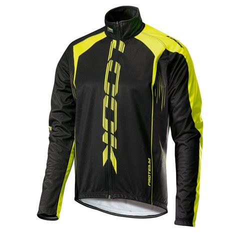 fluorescent bike jacket look men 39 s pro team jacket black fluorescent yellow