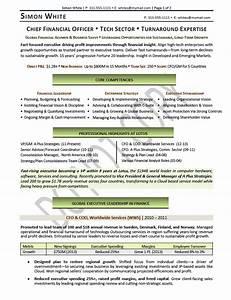 cfo resume resume ideas With cfo resume template