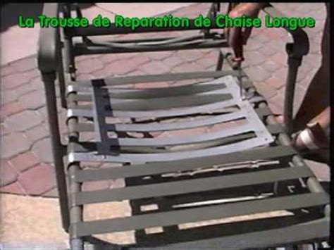 chaises longues de piscine la trousse de reparation pour chaise longue