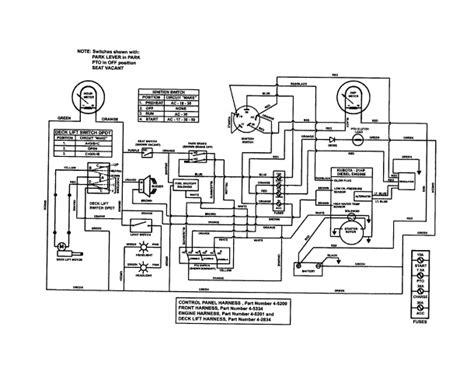 Kubotum Starter Wiring by Conversion Wiring How Lawn Engine Starter Wire Parts