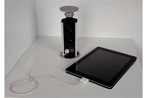 prise electrique encastrable cuisine bloc prise encastré escamotable plan travail accessoires