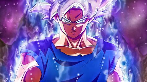 wallpaper ultra instinct goku super saiyan silver goku