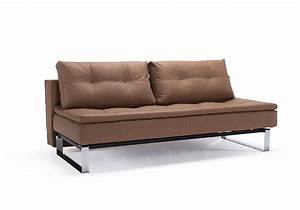 convertible sofa bed upholstered in fabric or leather With upholstered futon sofa bed