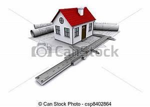 calipers modeles toit rendre dessins construction With toit de maison dessin 15 logo de peinture de maison illustration de vecteur image