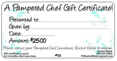 dont forget gift certificates