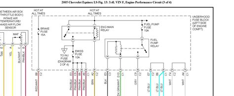 Equinox Need Wiring Diagram For Fuel Pump