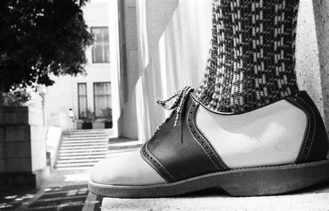saddle shoes oxford shoe wikipedia saddles dress 1950s rock flickr were leather elvis wiki days skirt via