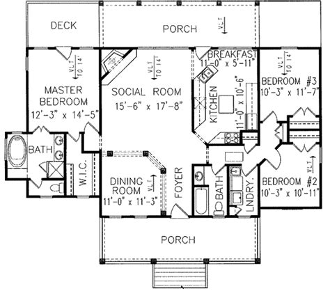 low country floor plans low country sweetheart 15795ge architectural designs house plans