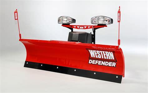 light duty truck plow western defender snow plow dejana truck utility equipment