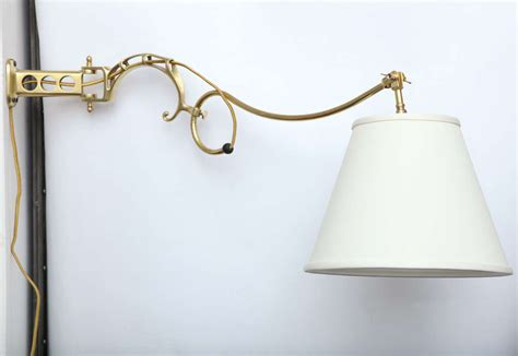 1920s Articulated Wall Sconce Signed Faries For Sale At