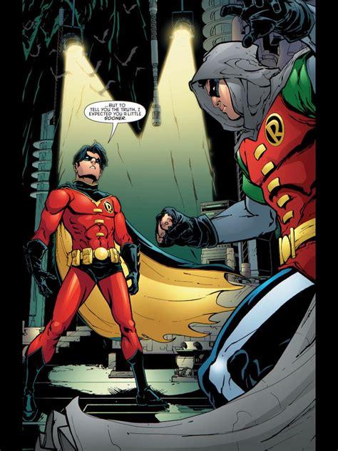 damian wayne tim drake batman robin vs dc nightwing comics hero son boy wonder gotham timothy visit