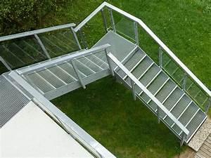 treppen bauschlosserei metallgestaltung kunstschmiede With garten planen mit außentreppe für balkon