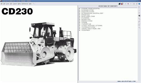 komatsu europe japan spare parts catalog heavy technics repair