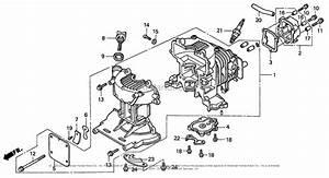 Honda Engines Gx31 Ta2 Engine  Jpn  Vin  Gcag