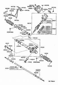 Toyota Supra Steering Tie Rod End  Right   Suspension  Brakes