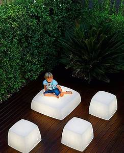 Contemporary and unique light seats design for outdoor