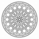 Mandala Coloring Mandalas Pages Meditation Printable Circle Colouring Circles Crochet Pattern Shapes Adults Yarn Round Pdf Adult Sheets Drawing Flower sketch template