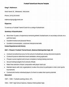 luxury college football coaching resume samples collection With football coach resume