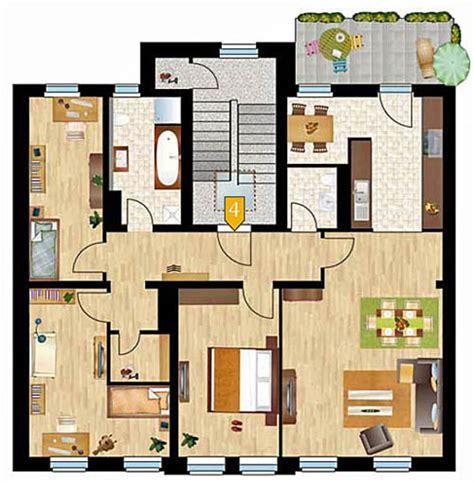 Grundriss Wohnung 120 Qm by Projekte In Anderen Regionen 187 Streiberh 246 Fe