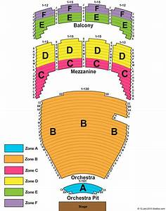 Tulsa Performing Arts Center Chapman Music Hall Seating