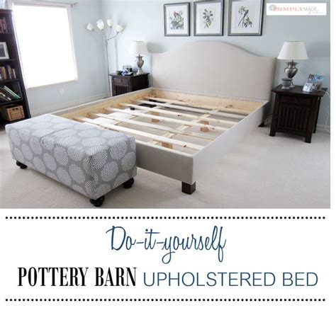 Pottery Barn Raleigh Bed by Best 25 Upholstered Beds Ideas On