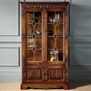 Old Charm Display Cabinet 2155 - The Place for Homes